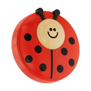 Alpay wandlamp Lieveheersbeestje - Rood Zwart