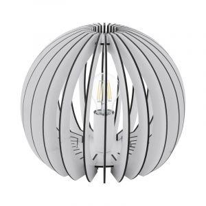 Amber tafellamp - Wit