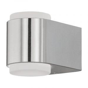 Moderne Zilvergrijze Witte wandlamp Lyza