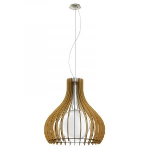 Bettine hanglamp - Nikkel-Mat