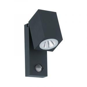 Buiten wandlamp Davey Gegoten Aluminium Antraciet