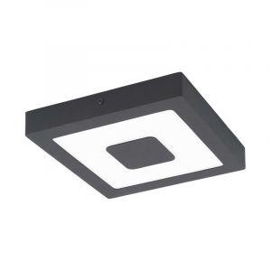 Moderne buiten plafondlamp Mike Gegoten Aluminium Antraciet