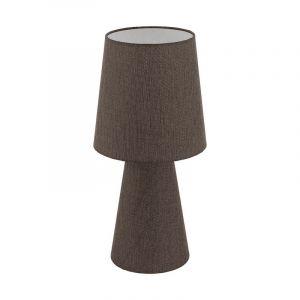 Stoffen tafellamp Mohammed bruin