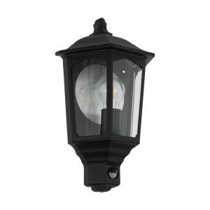 Moderne buiten wandlamp Zayn Gegoten Aluminium Zwart