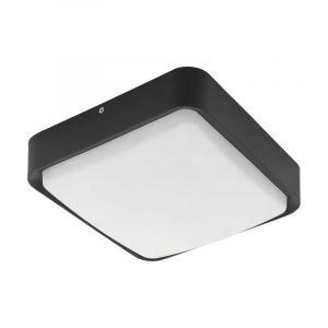 Buiten plafondlamp Mace Gegoten Aluminium Zwart