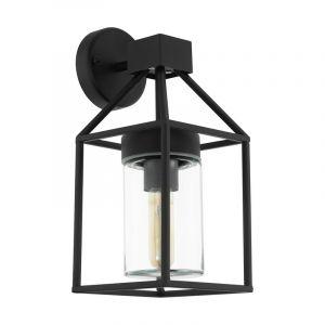 Moderne buiten wandlamp Riff Gegalvaniseerd Staal Zwart