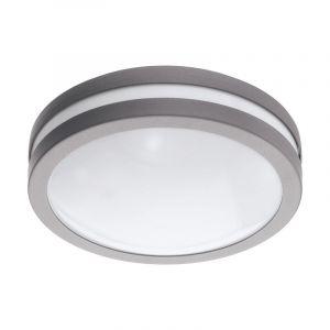 Buiten plafondlamp Justin Gegalvaniseerd Staal Zilver