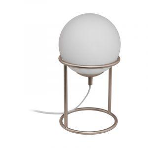 Beige klassieke tafellamp, Made, staal