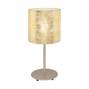 Stalen tafellamp Megan beige