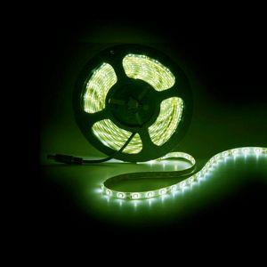 5m LED strip IP65, groen, 12V, 60 leds p/m, 4,8W