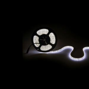 5m IP65 LED strip, Warm Wit, 12V, 120 leds p/m, 9,6W