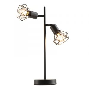 Industriële Tafellamp Jaylano, zwart