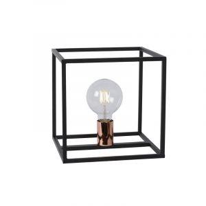 Moderne tafellamp Arthur, Zwart