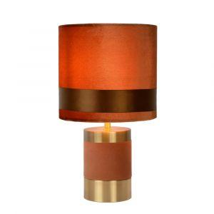 Bruine Tafellamp Extravaganza Frizzle, metaal