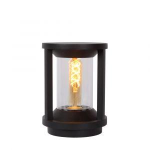 Zwarte buitenlamp Cadix, aluminium