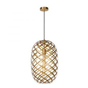 Gouden hanglamp Wolfram, metaal