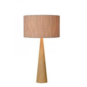 Houten design tafellamp Conos - Retro