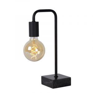 Zwarte tafellamp Lorin