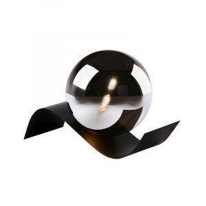 Moderne tafellamp Yoni, Zwart