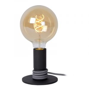 Moderne tafellamp Marit, Zwart