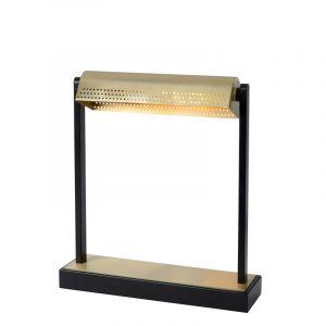 Zwarte bureaulamp Laut, staal