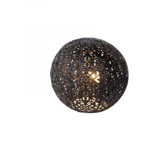 Zwarte tafellamp Paolo, Bol