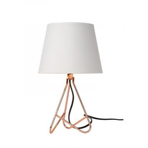 Moderne tafellamp Gitta, Koper