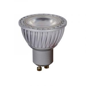 Grijze GU10 LED lamp, 5 Watt, Dimbaar