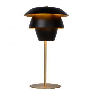 Zwarte Tafellamp Jericho, staal
