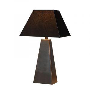 Moderne tafellamp Yessin, Roestbruin