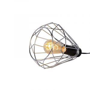Chroom tafellamp Kyara, Rond