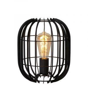 Moderne tafellamp Reda, Zwart