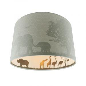 Mint dieren kinderkamer plafondlamp Safari, Binnenzijde doorschijnend