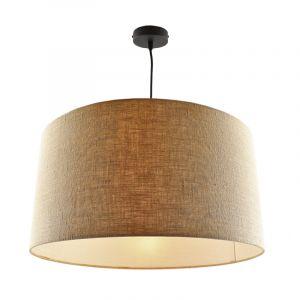 Hanglamp Urvin, linnen stof, 50 cm