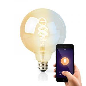 Dimbare E27 smart lamp met gedraaid filament G125, 5w