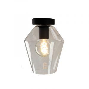 Transparante design plafondlamp Giada, diamant glas