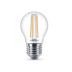 Dimbare Philips LED kogel E27 Filament, 2,7w