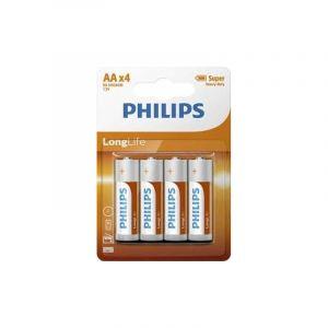 Philips 4x AA Batterijen