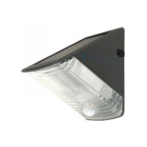 LED buiten wandlamp Costan - Op zonne-energie