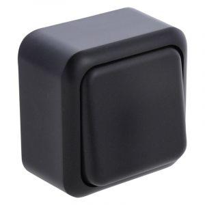 Q-Link opbouwschakelaar wissel, zwart
