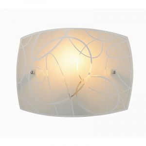 Moderne wandlamp Antoine, Wit