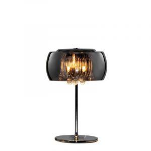 Moderne tafellamp Capucine, Chroom