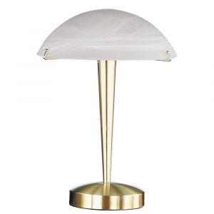 Evi sfeervolle tafellamp, messing