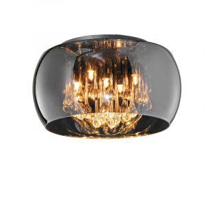 Moderne plafondlamp Capucine, Chroom