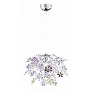 Hanglamp Vive - Chroom, Multicolor
