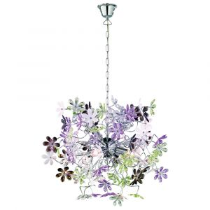Hailey hanglamp, bloemen design
