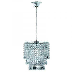 Taylor hanglamp, design met acryl, chroom