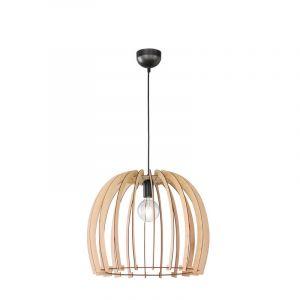 Moderne, Landelijke Hanglamp Valeney - Houtkleur