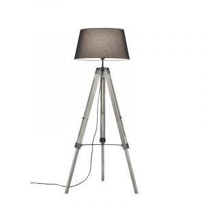 Moderne vloerlamp Axel, Grijs