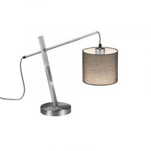 Nikkel tafellamp Lyne, Modern